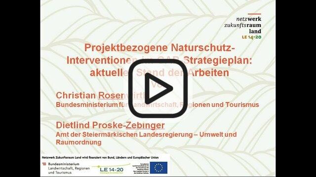 Dietlind Proske-Zebinger der Arbeiten Christian Rosenwirth