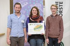 Jacqueline Godany v.l.n.r.: Jakob Kavallar, Lea Kluge und Philipp Trenkler